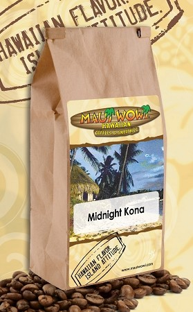 Midnight Kona Coffee - (6) 12 oz bags per CASE