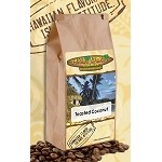 Maui Wowi Toasted Coconut Flavored Coffee - (6) 12 oz bags per CASE