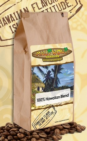 100% Hawaiian Blend Coffee - (6) 12 oz bags per CASE